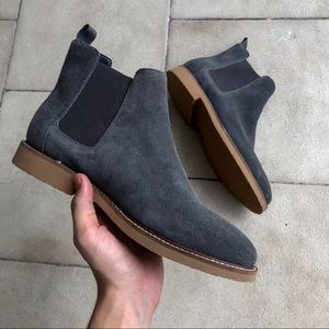 Genuine Suede EXPRESS Chelsea boots